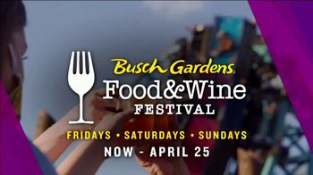 Busch Gardens TV Spot, '2021 Food & Wine Festival: Save On Annual Passes' - Thumbnail 5
