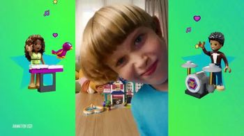 LEGO Friends Challenge TV Spot, 'Join In' - Thumbnail 8