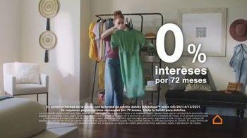 Ashley HomeStore Spring Semi-Annual Sale TV Spot, '0% intereses' [Spanish] - Thumbnail 5