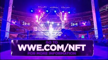 WWE, Inc. TV Spot, 'Limited-Edition NFTs' - 1 commercial airings
