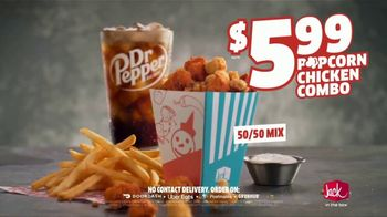 Jack in the Box Popcorn Chicken Combo TV Spot, 'Refuse to Choose: $5.99' - Thumbnail 9