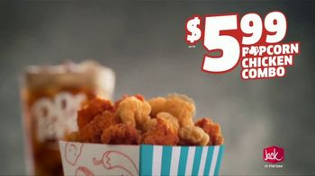 Jack in the Box Popcorn Chicken Combo TV Spot, 'Refuse to Choose: $5.99' - Thumbnail 5