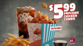 Jack in the Box Popcorn Chicken Combo TV Spot, 'Refuse to Choose: $5.99' - Thumbnail 6