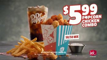 Jack in the Box Popcorn Chicken Combo TV Spot, 'Refuse to Choose: $5.99' - Thumbnail 7