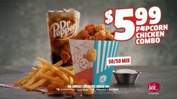 Jack in the Box Popcorn Chicken Combo TV Spot, 'Refuse to Choose: $5.99' - Thumbnail 8