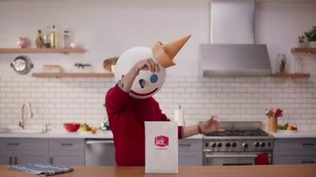 Jack in the Box Everything Croissant Breakfast Sandwiches TV Spot, 'An Idea' - Thumbnail 3