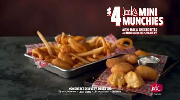 Jack in the Box Jack's Mini Munchies TV Spot, 'Mac & Cheese: Singing Bag' - Thumbnail 10