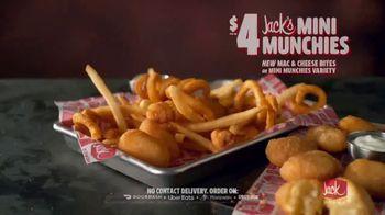 Jack in the Box Jack's Mini Munchies TV Spot, 'Mac & Cheese: Singing Bag' - Thumbnail 9