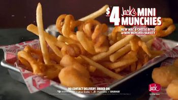 Jack in the Box Jack's Mini Munchies TV Spot, 'Mac & Cheese: One More Bite' - Thumbnail 6
