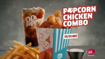 Jack in the Box Popcorn Chicken Combo TV Spot, 'Refuse to Choose' - Thumbnail 5
