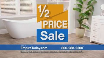 Empire Today Half Price Sale TV Spot, 'Right From Home'