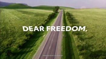 Toyota Venza TV Spot, 'Dear Freedom: Onward' [T1] - Thumbnail 2