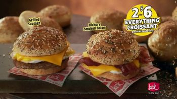 Jack in the Box Everything Croissant Breakfast Sandwiches TV Spot, 'Jack Has It All' - Thumbnail 8
