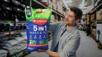 BioAdvanced 5 In 1 Weed & Feed TV Spot, 'Overwhelmed' - Thumbnail 3