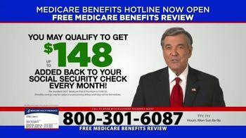 Medicare Benefits Hotline TV Spot, 'Attention: Medicare Approved Benefits' - Thumbnail 2