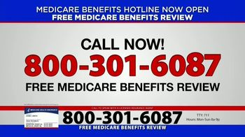 Medicare Benefits Hotline TV Spot, 'Attention: Medicare Approved Benefits' - Thumbnail 3