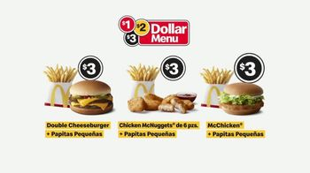 McDonald's $1 $2 $3 Menu TV Spot, 'El hoy brindo yo meal... casi' [Spanish] - Thumbnail 8