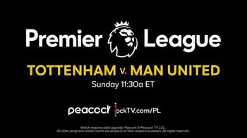 Peacock TV TV Spot, 'Premier League'