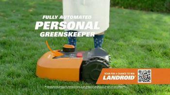 Worx Landroid TV Spot, 'The Future of Lawn Care' - Thumbnail 4