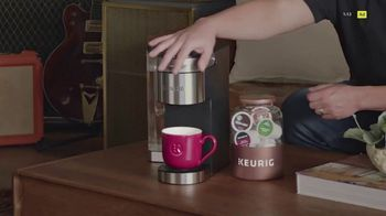 Keurig K-Supreme Plus Brewer TV Spot, 'Hits All The Right Notes' Featuring James Corden - Thumbnail 2