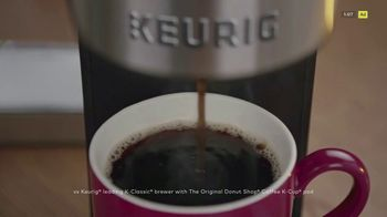 Keurig K-Supreme Plus Brewer TV Spot, 'Hits All The Right Notes' Featuring James Corden - Thumbnail 4