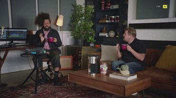 Keurig K-Supreme Plus Brewer TV Spot, 'Hits All The Right Notes' Featuring James Corden - Thumbnail 6