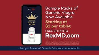 REX MD TV Spot, 'Sample Packs of Generic Viagra' - Thumbnail 5