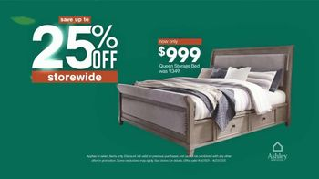 Ashley HomeStore Spring Semi-Annual Sale TV Spot, '25% Off Storewide & Special Financing: Bed' - Thumbnail 3