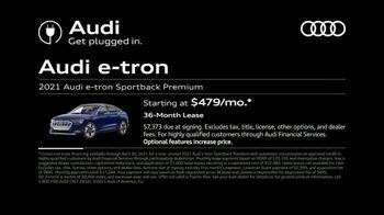 2021 Audi e-tron Sportback TV Spot, 'Unleashed' [T2] - Thumbnail 6