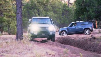 Land Rover Defender TV Spot, 'Outdoors: Backcountry Driving' [T1]