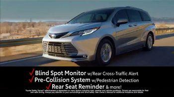 2021 Toyota Sienna TV Spot, 'Modernized Minivan' [T2] - Thumbnail 7
