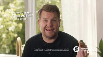 WW TV Spot, 'Pizza: Free Trial' Featuring James Corden - 23 commercial airings