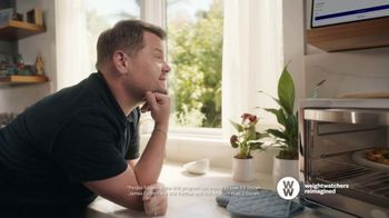 WW TV Spot, 'Pizza: Free Trial' Featuring James Corden - Thumbnail 3