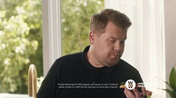 WW TV Spot, 'Pizza: Free Trial' Featuring James Corden - Thumbnail 4