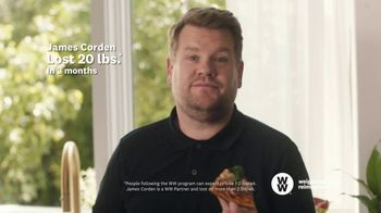 WW TV Spot, 'Pizza: Free Trial' Featuring James Corden - Thumbnail 7