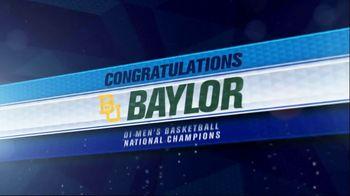 NCAA TV Spot, 'Congratulations Baylor'
