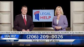 Legal Help Center TV Spot, 'Listen Up: Who Should Call'