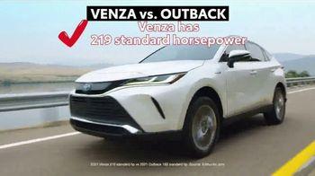 2021 Toyota Venza TV Spot, 'Nothing Else Compares' [T2] - Thumbnail 6