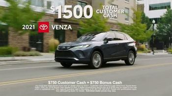 2021 Toyota Venza TV Spot, 'Nothing Else Compares' [T2] - Thumbnail 8