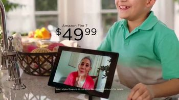 Kohl's TV Spot, 'Mother's Day: Amazon Fire 7' Song by Oh, Hush! - Thumbnail 8