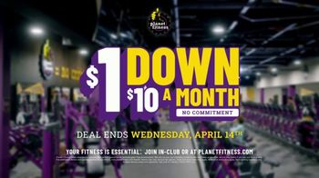 Planet Fitness TV Spot, '$1 Down, $10 a Month, No Commitment' - Thumbnail 10