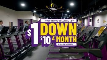 Planet Fitness TV Spot, '$1 Down, $10 a Month, No Commitment' - Thumbnail 2