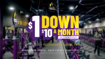 Planet Fitness TV Spot, '$1 Down, $10 a Month, No Commitment' - Thumbnail 9