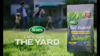 Scotts Turf Builder Triple Action TV Spot, 'Triplets'