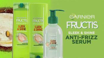 Garnier Fructis Sleek & Shine Anti-Frizz Serum TV Spot, 'Fight Frizz' Song by Lizzo - Thumbnail 10