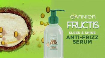 Garnier Fructis Sleek & Shine Anti-Frizz Serum TV Spot, 'Fight Frizz' Song by Lizzo - Thumbnail 9
