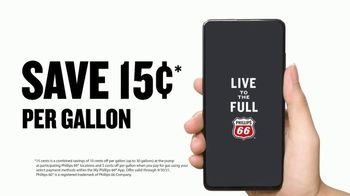 My Phillips 66 App TV Spot, 'Mobile Pay: Save 15 Cents Per Gallon' - Thumbnail 10