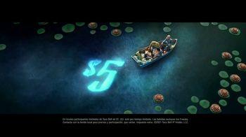 Taco Bell $5 Chalupa Cravings Box TV Spot, 'Antojos más salvajes: barco' [Spanish] - Thumbnail 6