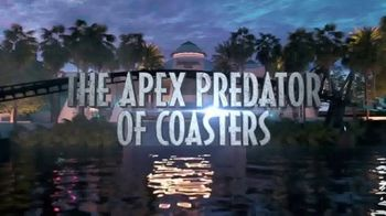 Universal Orlando Resort VelociCoaster TV Spot, 'Apex Predator of Coasters'