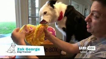 BarkBox TV Spot, 'New Toys and Treats Every Month' Ft. Zak George, Song by Swirling Ship - Thumbnail 5